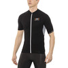 X-Bionic The Trick Biking Shirt SS Full Zip Men Black/White